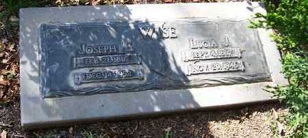 WISE, LUCIA J. - Santa Cruz County, Arizona | LUCIA J. WISE - Arizona Gravestone Photos
