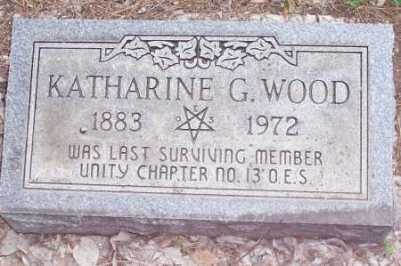 WOOD, KATHARINE G. - Santa Cruz County, Arizona | KATHARINE G. WOOD - Arizona Gravestone Photos