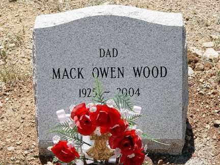 WOOD, MACK O. - Santa Cruz County, Arizona | MACK O. WOOD - Arizona Gravestone Photos