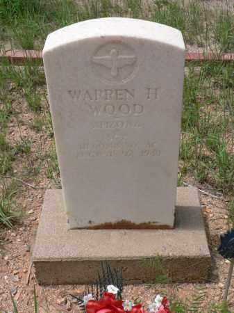 WOOD, WARREN H. - Santa Cruz County, Arizona | WARREN H. WOOD - Arizona Gravestone Photos