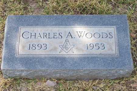 WOODS, CHARLES A. - Santa Cruz County, Arizona | CHARLES A. WOODS - Arizona Gravestone Photos