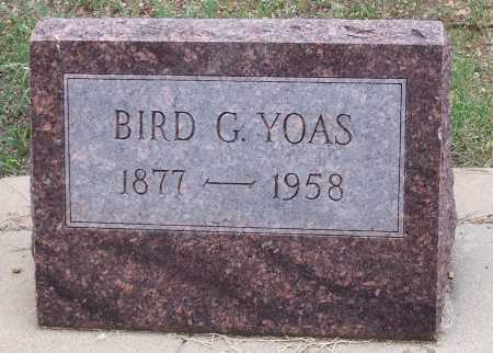 YOAS, BIRD G. - Santa Cruz County, Arizona   BIRD G. YOAS - Arizona Gravestone Photos