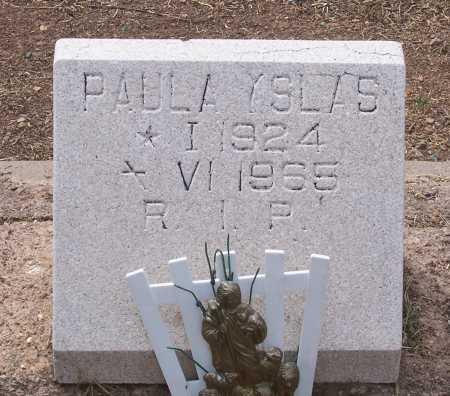 YSLAS, PAULA - Santa Cruz County, Arizona | PAULA YSLAS - Arizona Gravestone Photos
