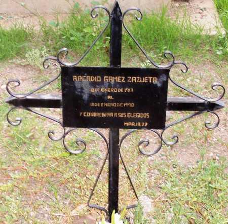 ZAZUETA, ARCADIO GAMEZ - Santa Cruz County, Arizona | ARCADIO GAMEZ ZAZUETA - Arizona Gravestone Photos