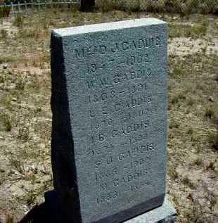 GADDIS, I. BENTON - Yavapai County, Arizona | I. BENTON GADDIS - Arizona Gravestone Photos