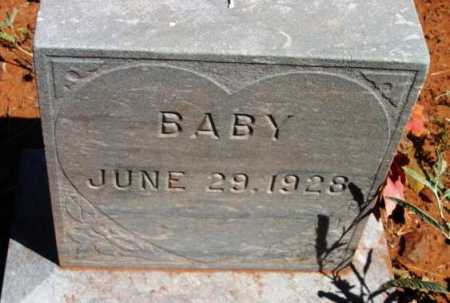 UNKNOWN, BABY - Yavapai County, Arizona | BABY UNKNOWN - Arizona Gravestone Photos