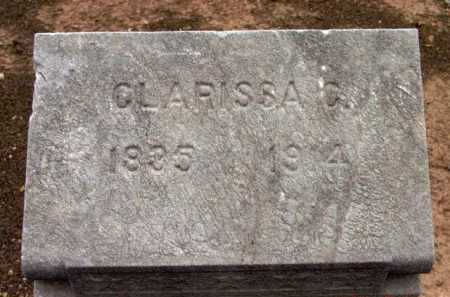 JOHNSON, CLARISSA C. - Yavapai County, Arizona | CLARISSA C. JOHNSON - Arizona Gravestone Photos