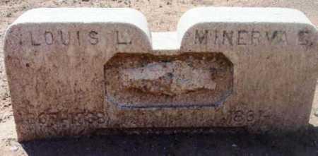 SCHWAB, MINERVA G. - Yavapai County, Arizona | MINERVA G. SCHWAB - Arizona Gravestone Photos
