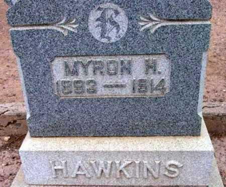 HAWKINS, MYRON HENRY - Yavapai County, Arizona | MYRON HENRY HAWKINS - Arizona Gravestone Photos