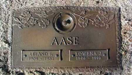 AASE, LELAND E. - Yavapai County, Arizona | LELAND E. AASE - Arizona Gravestone Photos