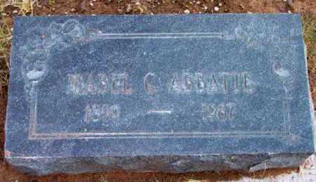 ABBATTE, MABEL C. - Yavapai County, Arizona | MABEL C. ABBATTE - Arizona Gravestone Photos