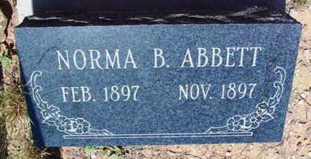 ABBOTT, NORMA BEATRICE - Yavapai County, Arizona | NORMA BEATRICE ABBOTT - Arizona Gravestone Photos
