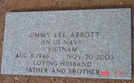 ABBOTT, JIMMY LEE - Yavapai County, Arizona   JIMMY LEE ABBOTT - Arizona Gravestone Photos