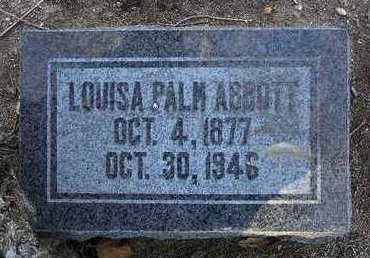 ABBOTT, LOUISA - Yavapai County, Arizona | LOUISA ABBOTT - Arizona Gravestone Photos