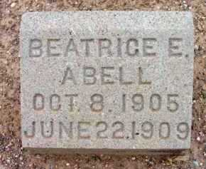 ABELL, BEATRICE ELIZABETH - Yavapai County, Arizona   BEATRICE ELIZABETH ABELL - Arizona Gravestone Photos