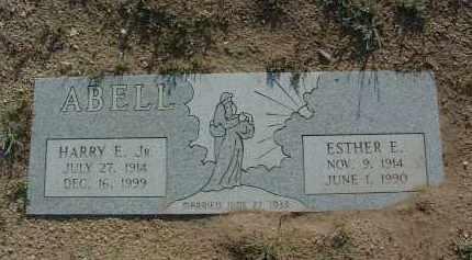 ABELL, ESTHER E. - Yavapai County, Arizona | ESTHER E. ABELL - Arizona Gravestone Photos