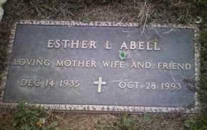 RITHMILLER ABELL, ESTHER - Yavapai County, Arizona | ESTHER RITHMILLER ABELL - Arizona Gravestone Photos