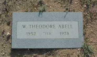 ABELL, WILLIAM THEODORE - Yavapai County, Arizona | WILLIAM THEODORE ABELL - Arizona Gravestone Photos