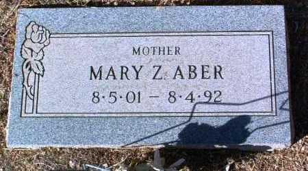 ABER, MARY ZELMA - Yavapai County, Arizona | MARY ZELMA ABER - Arizona Gravestone Photos