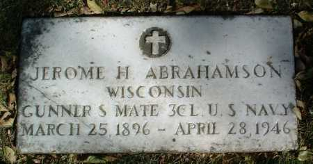 ABRAHAMSON, JEROME H. - Yavapai County, Arizona | JEROME H. ABRAHAMSON - Arizona Gravestone Photos