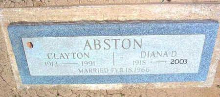 ABSTON, DIANA D. - Yavapai County, Arizona | DIANA D. ABSTON - Arizona Gravestone Photos
