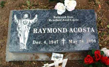 ACOSTA, RAYMOND - Yavapai County, Arizona | RAYMOND ACOSTA - Arizona Gravestone Photos