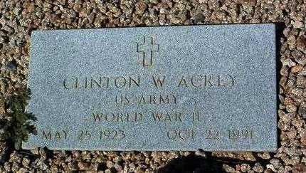 ACREY, CLINTON WALTER (WALT) - Yavapai County, Arizona | CLINTON WALTER (WALT) ACREY - Arizona Gravestone Photos