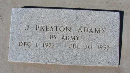 ADAMS, JAP PRESTON - Yavapai County, Arizona   JAP PRESTON ADAMS - Arizona Gravestone Photos