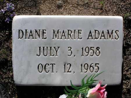 ADAMS, DIANE MARIE - Yavapai County, Arizona   DIANE MARIE ADAMS - Arizona Gravestone Photos