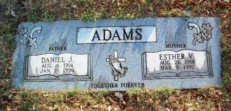 ADAMS, DANIEL J. - Yavapai County, Arizona | DANIEL J. ADAMS - Arizona Gravestone Photos
