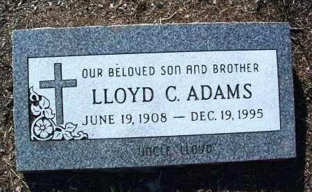 ADAMS, LLOYD CLIFTON - Yavapai County, Arizona | LLOYD CLIFTON ADAMS - Arizona Gravestone Photos
