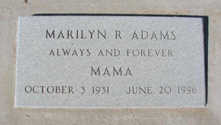 ADAMS, MARILYN ROSE - Yavapai County, Arizona | MARILYN ROSE ADAMS - Arizona Gravestone Photos