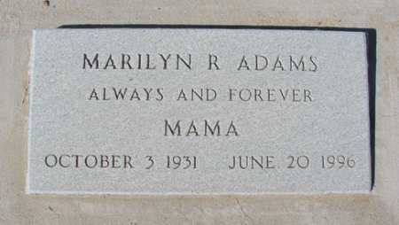 ADAMS, MARILYN ROSE - Yavapai County, Arizona | MARILYN ROSE ADAMS - Arizona Gravestone Photos