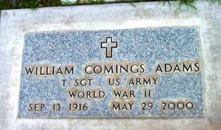 ADAMS, WILLIAM COMINGS - Yavapai County, Arizona | WILLIAM COMINGS ADAMS - Arizona Gravestone Photos
