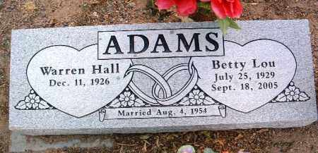 VEST ADAMS, BETTY LOU - Yavapai County, Arizona | BETTY LOU VEST ADAMS - Arizona Gravestone Photos