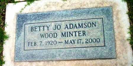 ADAMSON WOOD, BETTY J. - Yavapai County, Arizona | BETTY J. ADAMSON WOOD - Arizona Gravestone Photos