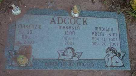 ADCOCK, MAKENZIE JO - Yavapai County, Arizona   MAKENZIE JO ADCOCK - Arizona Gravestone Photos