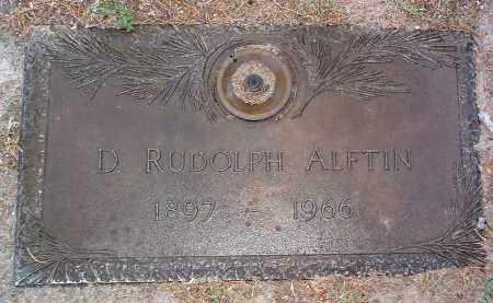 ALFTIN, DANIEL RUDOLPH - Yavapai County, Arizona | DANIEL RUDOLPH ALFTIN - Arizona Gravestone Photos