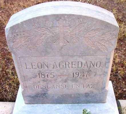 AGREDANO, LEON - Yavapai County, Arizona | LEON AGREDANO - Arizona Gravestone Photos