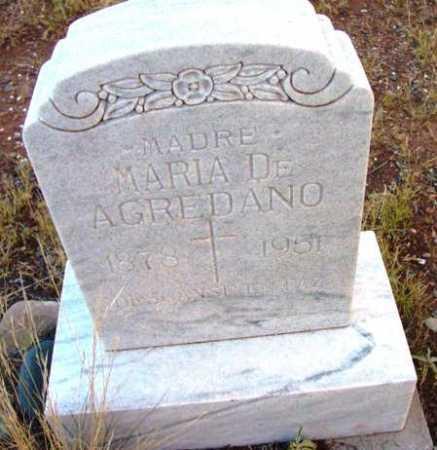 DE SANDI AGREDANO, MARIA - Yavapai County, Arizona | MARIA DE SANDI AGREDANO - Arizona Gravestone Photos