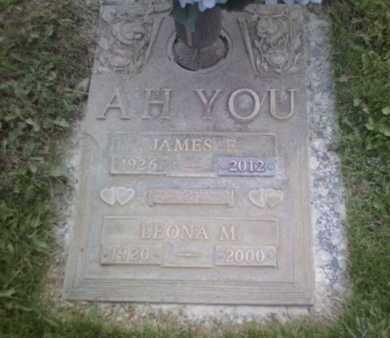 AH YOU, LEONA M - Yavapai County, Arizona | LEONA M AH YOU - Arizona Gravestone Photos