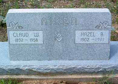 AIKEN, CLAUDE WEBB - Yavapai County, Arizona | CLAUDE WEBB AIKEN - Arizona Gravestone Photos