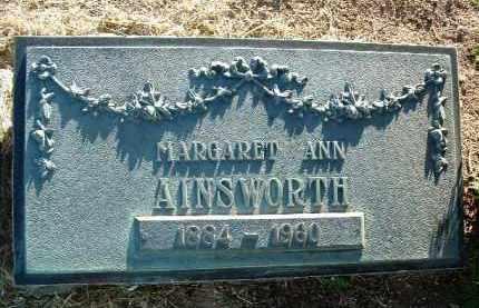 MURRAY AINSWORTH, M. - Yavapai County, Arizona | M. MURRAY AINSWORTH - Arizona Gravestone Photos