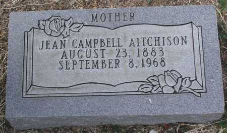 CAMPBELL AITCHISON, JEAN - Yavapai County, Arizona | JEAN CAMPBELL AITCHISON - Arizona Gravestone Photos