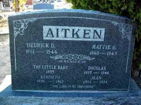 TUTTLE AITKEN, MATTIE BELLE - Yavapai County, Arizona | MATTIE BELLE TUTTLE AITKEN - Arizona Gravestone Photos