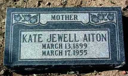 BURGESS AITON, KATHERINE - Yavapai County, Arizona | KATHERINE BURGESS AITON - Arizona Gravestone Photos
