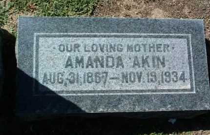 CLUBB AKIN, AMANDA - Yavapai County, Arizona | AMANDA CLUBB AKIN - Arizona Gravestone Photos