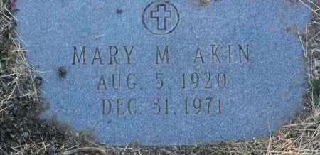 ENGLE AKIN, MARY M. - Yavapai County, Arizona | MARY M. ENGLE AKIN - Arizona Gravestone Photos