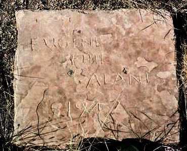 ALANIS, EUGENE SELIBERT - Yavapai County, Arizona | EUGENE SELIBERT ALANIS - Arizona Gravestone Photos