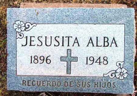 ALBA, JESUSITA - Yavapai County, Arizona   JESUSITA ALBA - Arizona Gravestone Photos